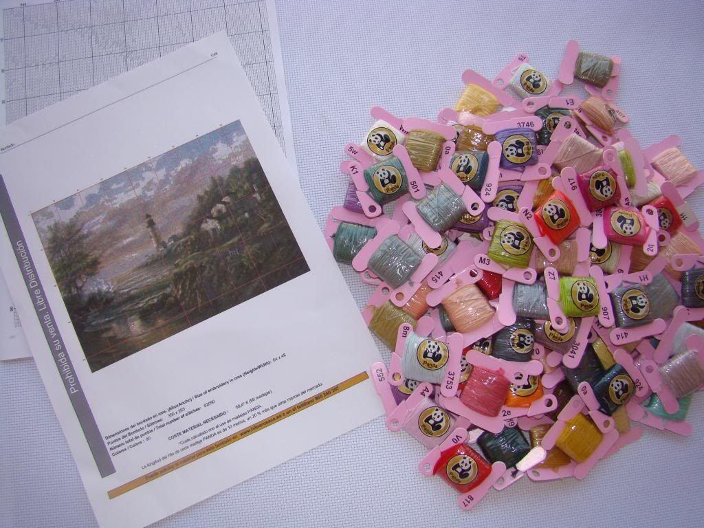 Kits de punto de cruz vintage