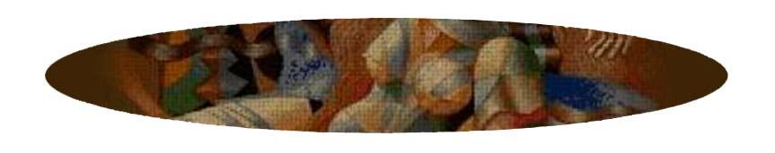 Kits de punto de cruz 45 colores de grandes pintores