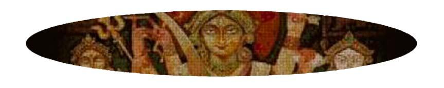 Kits de punto de cruz 45 colores de religión y mitología
