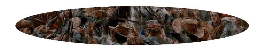 Kits de punto de cruz 50 colores Militares y Bélicos